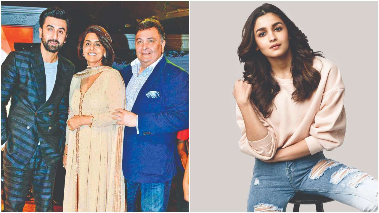 Photo of This is What Alia Bhatt Has to Say About Boyfriend Ranbir's Parents, Rishi and Neetu Kapoor