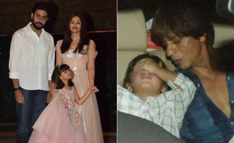 Photo of Shah Rukh Khan's Son AbRam Khan Screams 'No Pictures' at The Paparazzi