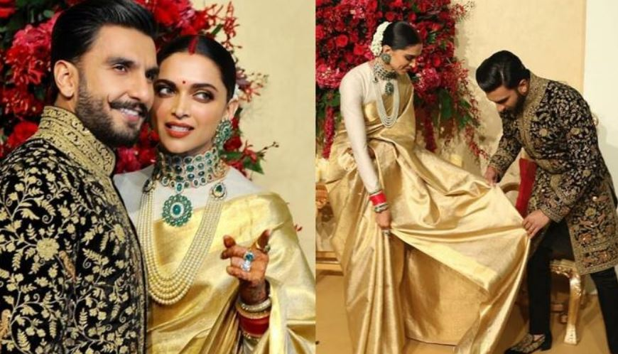 Photo of This is How Smashing Deepika And Ranveer Bangaluru Reception Looks Were: