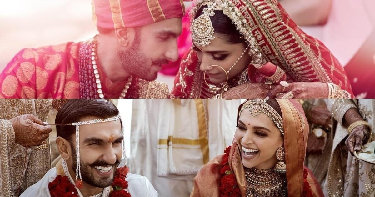 Photo of Ranveer Singh And Deepika Padukone Finally Share Their Wedding Pictures on Instagram