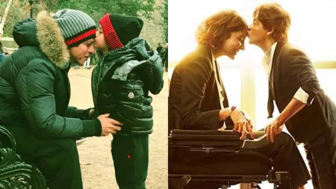 Photo of Shah Rukh Khan And AbRam Khan Become The Sweetest Duo as They Recreate a Zero Poster