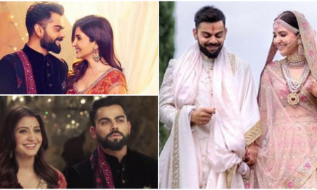 Anushka Sharma Shares A Heartfelt Message For Her Beloved Hubby Virat Kohli On Their First Anniversary