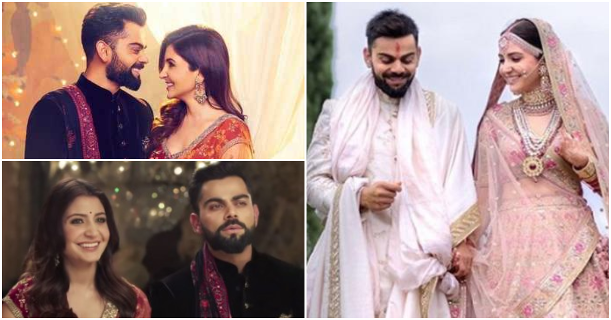 Photo of Anushka Sharma Shares A Heartfelt Message For Her Beloved Hubby Virat Kohli On Their First Anniversary