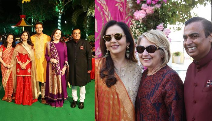Photo of Gone Viral: SRK Makes Hillary Clinton Groove To The Music Of Bollywood Numbers At Isha Ambani's Wedding