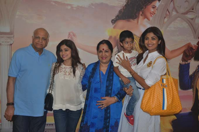 Shilpa Shetty Family