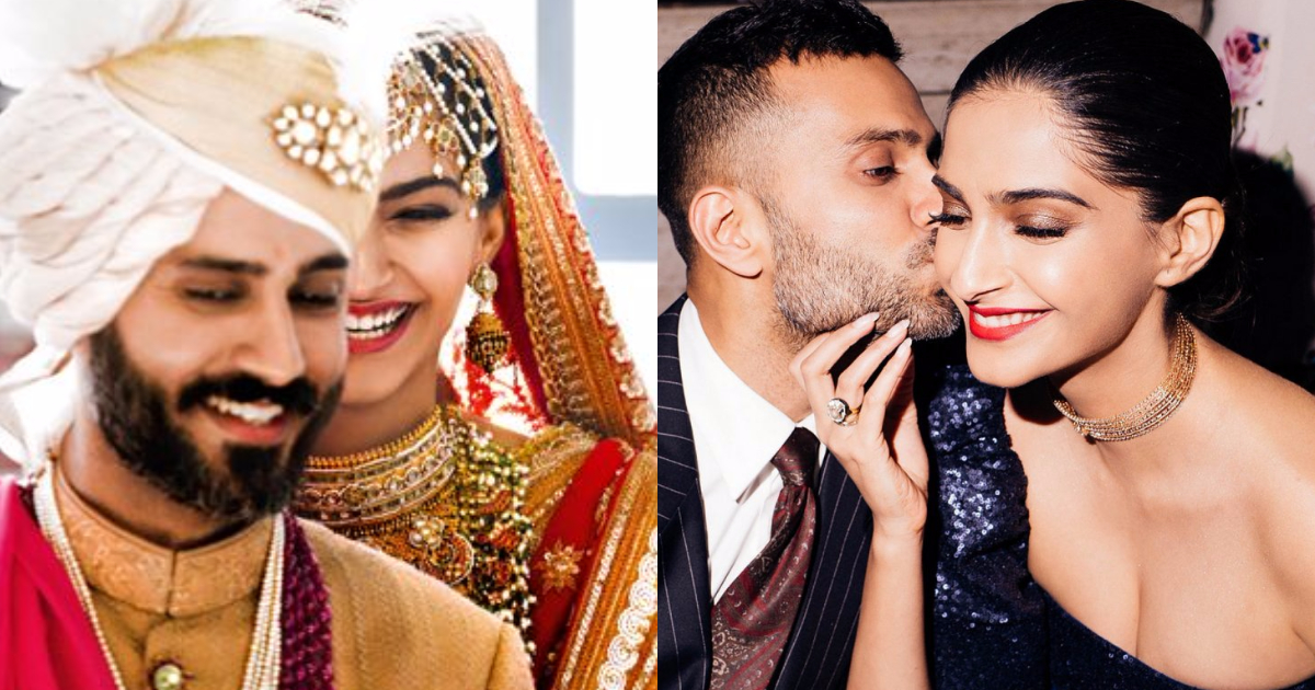 Photo of 25 Stunningly-In-Love Pictures of Sonam Kapoor And Anand Ahuja