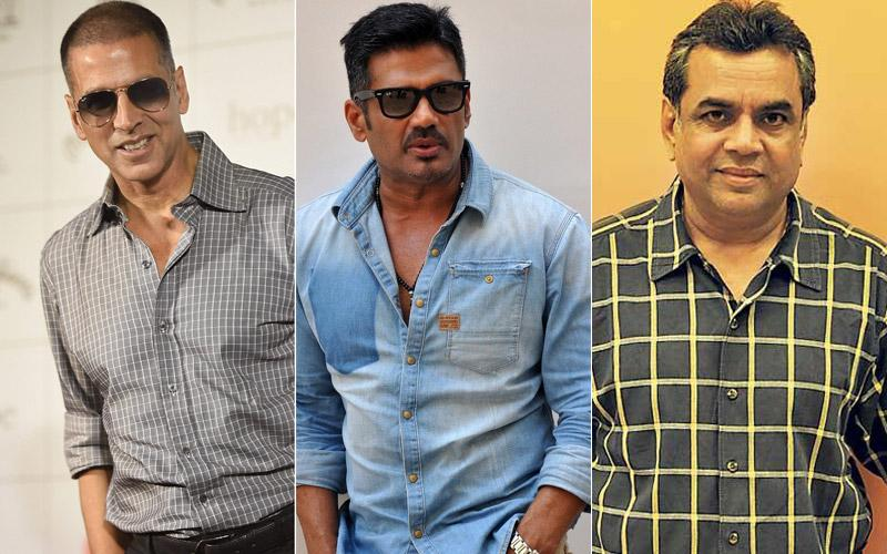 Photo of Akshay Kumar, Suniel Shetty And Paresh Rawal to Start Shooting For Hera Pheri 3 by The End of The Year