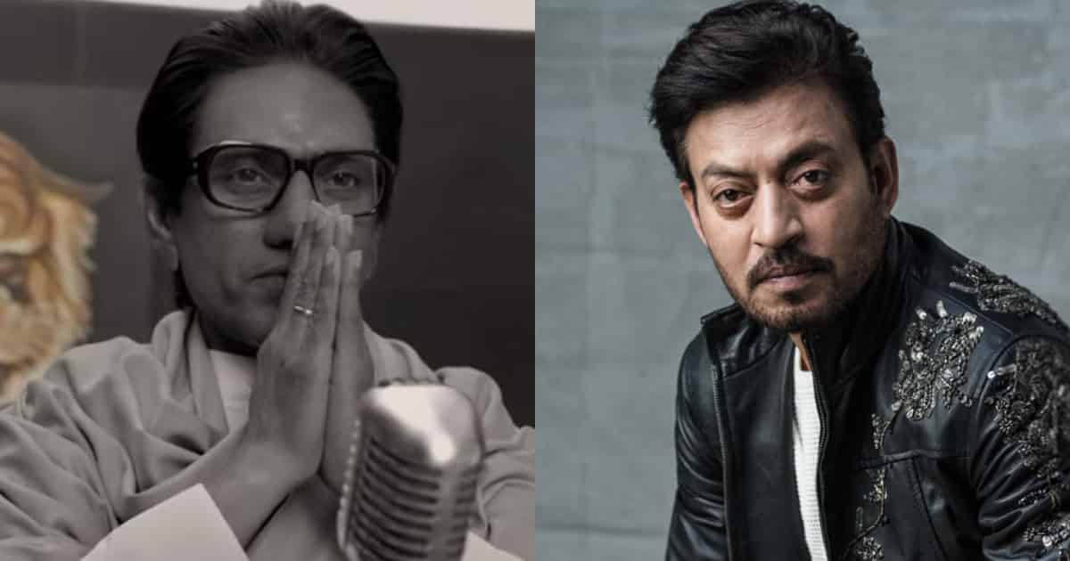 Photo of Irrfan Khan Was The First Choice to Play Thackeray, Not Nawazuddin Siddiqui