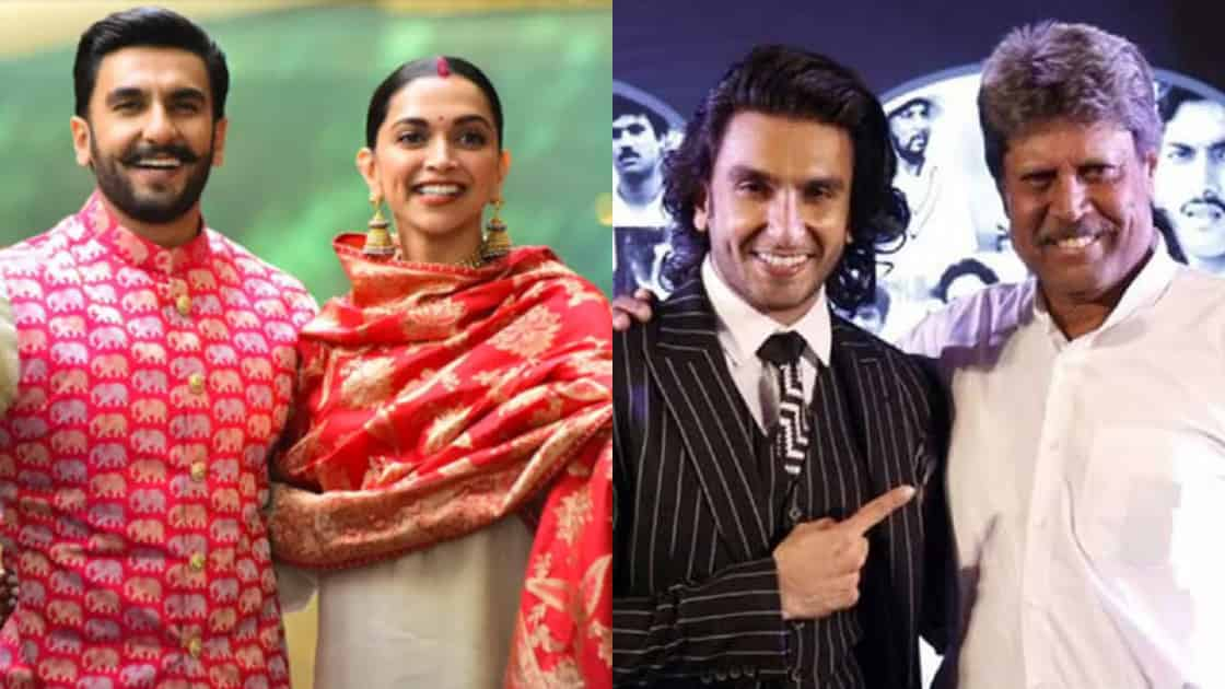 Photo of Ranveer Singh And Deepika Padukone to Play Husband And Wife Onscreen in Kapil Dev Biopic?