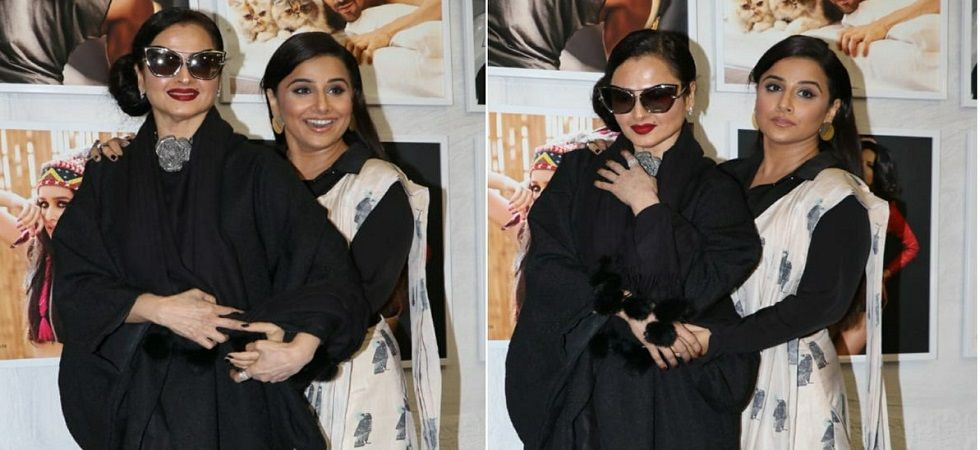 Photo of Vidya Balan Almost Suffered a Wardrobe Malfunction Because of Rekha
