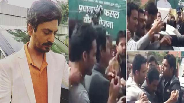 Photo of Nawazuddin Siddiqui Grabbed by a Psycho Fan While Shooting, Watch Video