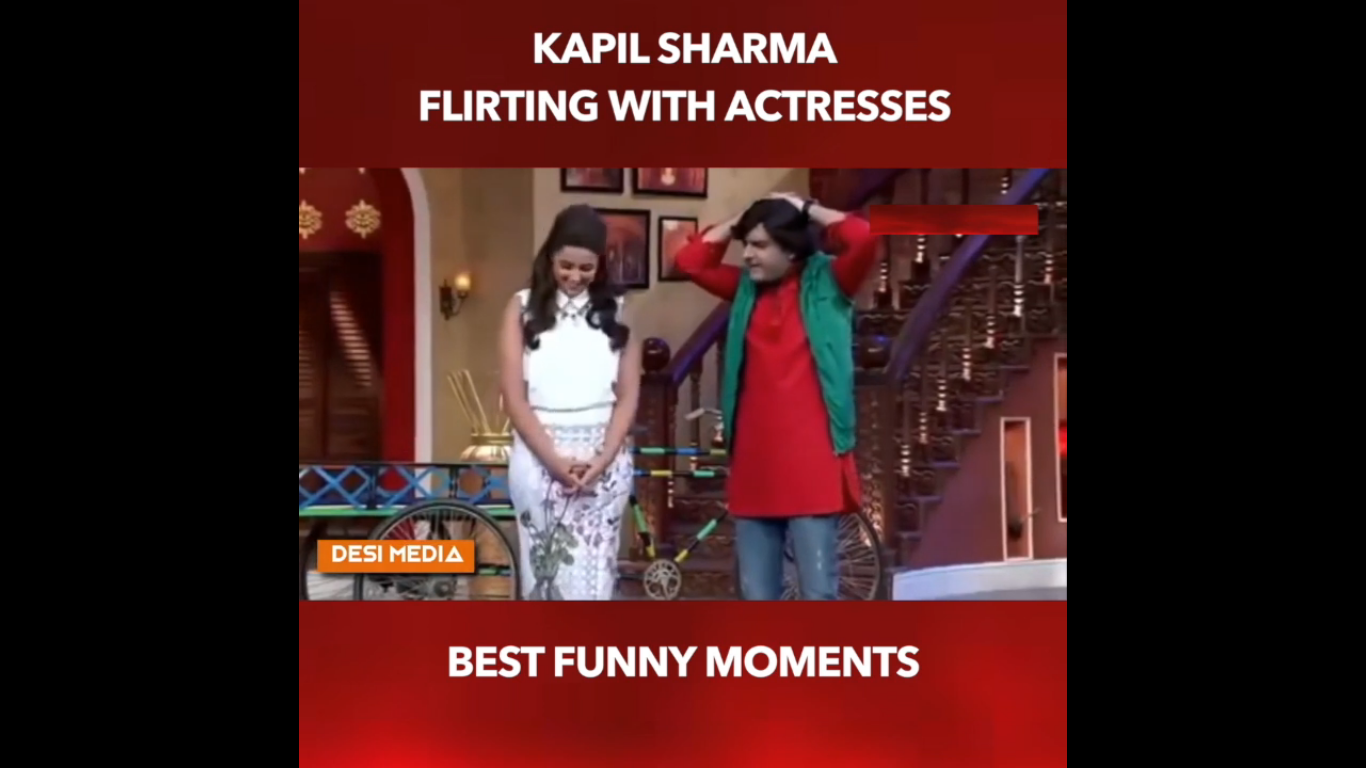 Photo of WATCH VIDEO: Kapil Sharma Flirts With B-TOWN and Other TV ACTRESSES