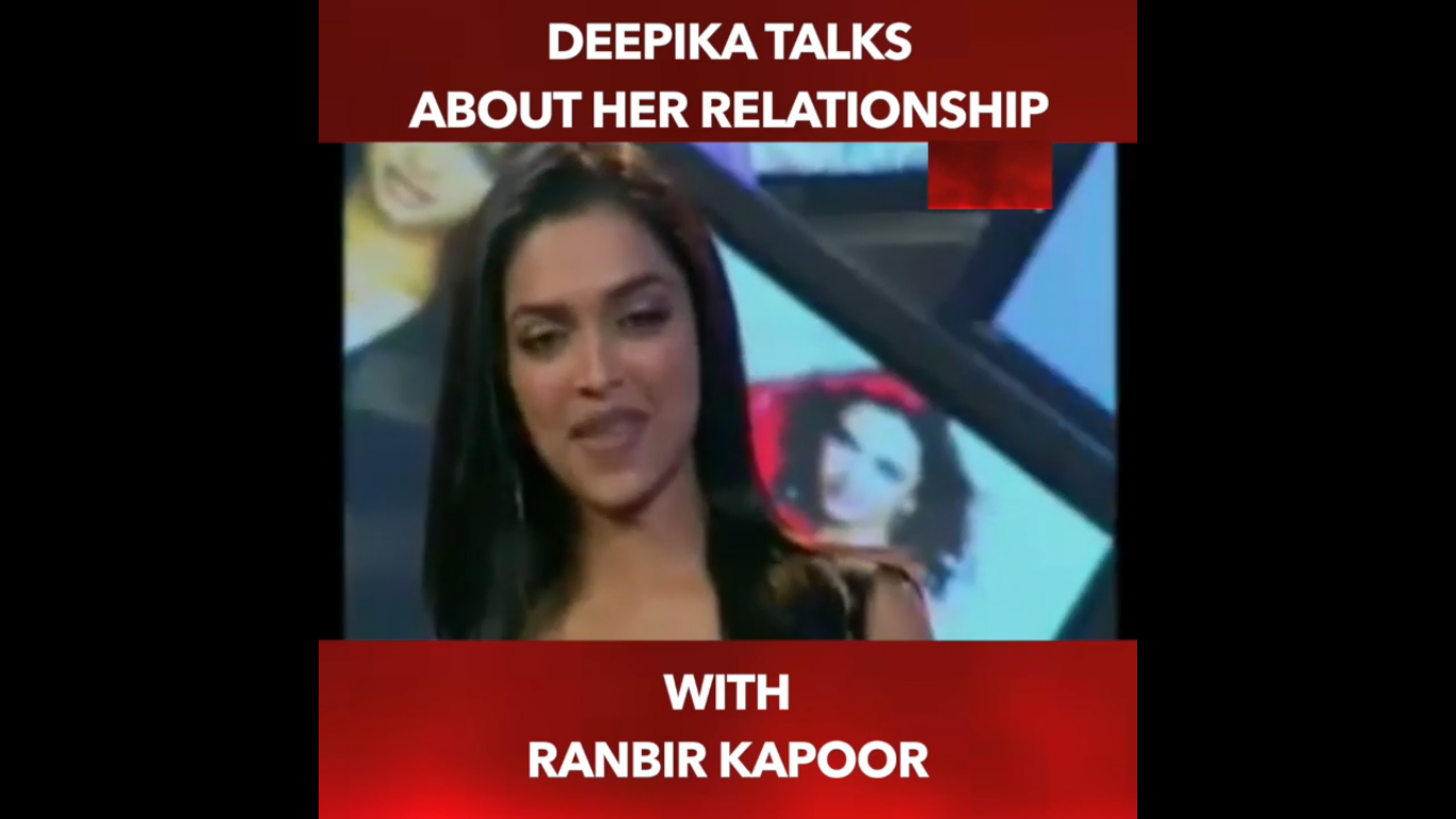 Photo of WATCH Ranbir & Deepika Controversy: Deepika Padukone Talks About Her Relationship With Ranbir Kapoor