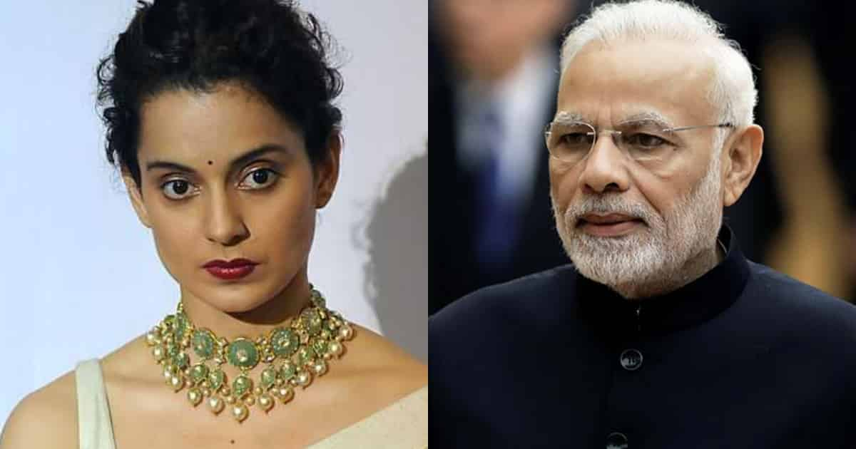 Photo of Kangana Ranaut Requests PM Narendra Modi to Scrap Article 370