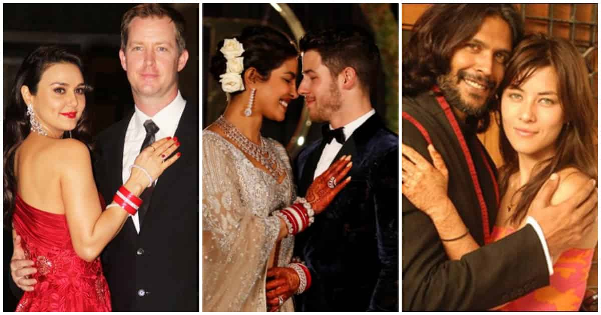 Photo of List of 8 Bollywood Stars Who Married Foreigners