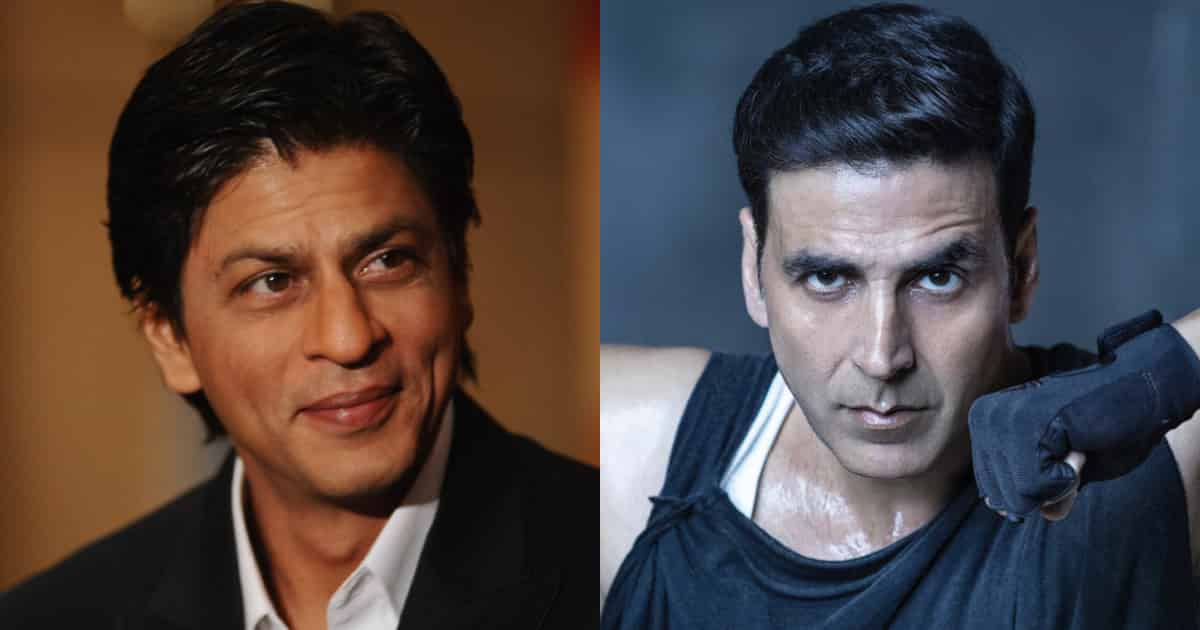 Photo of Shah Rukh Khan Says He And Akshay Kumar Wouldn't Meet on Set if They Work Together