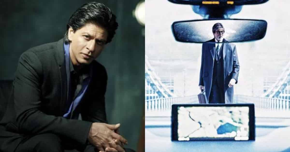 Photo of Shah Rukh Khan Unveils an Interesting Poster of 'Badla' Featuring Amitabh Bachchan