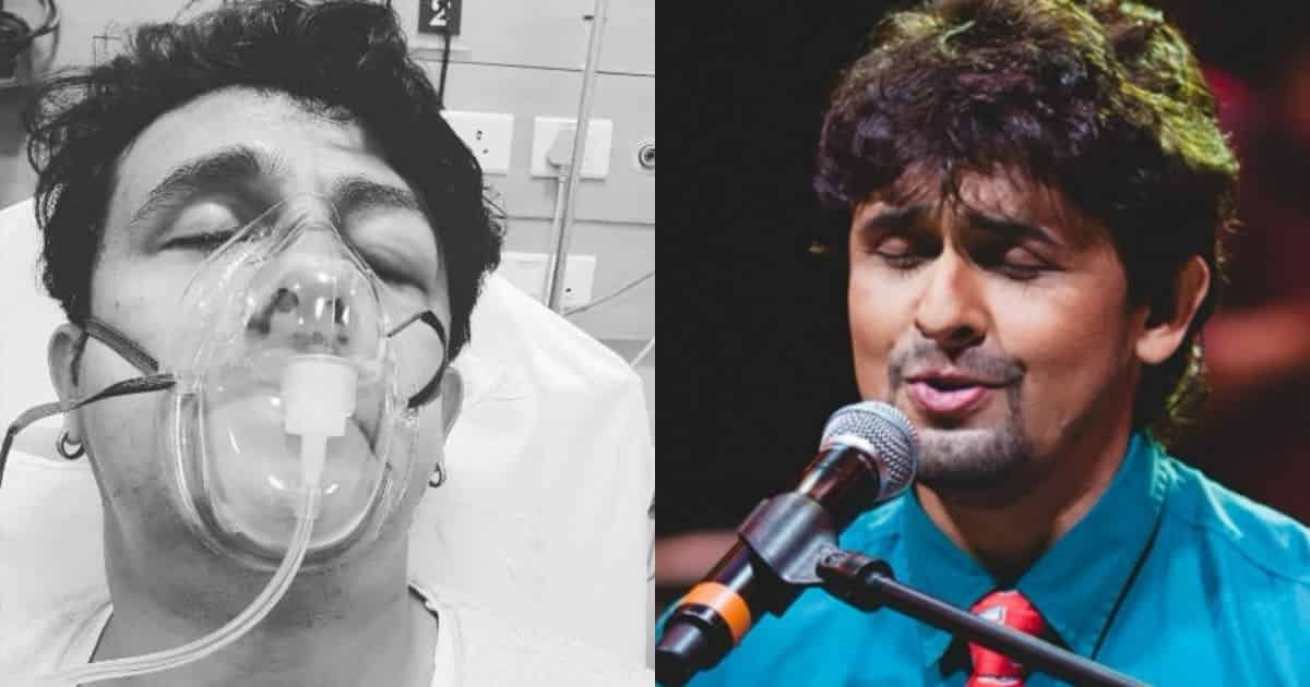 Photo of Sonu Nigam Shares His Pictures From The ICU Leaving Fans Worried
