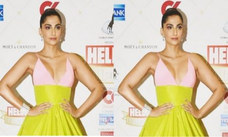 Sonam Kapoor Hello Hall of Fame Awards 2019