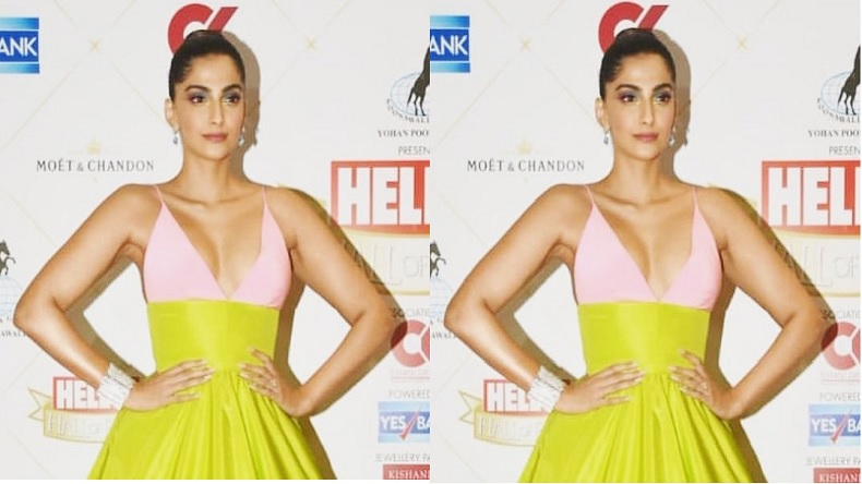 Photo of Sonam Kapoor Trolled Heavily For Her Choice of Dress at Hello Hall of Fame Awards 2019