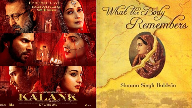 Photo of Kalank Plot Copied From The Book 'What The Body Remembers'?