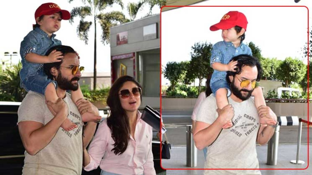 Photo of Saif Ali Khan Tells Paparazzi Clicking Taimur 'Bas Karo, Bacha Andha Hojayega'