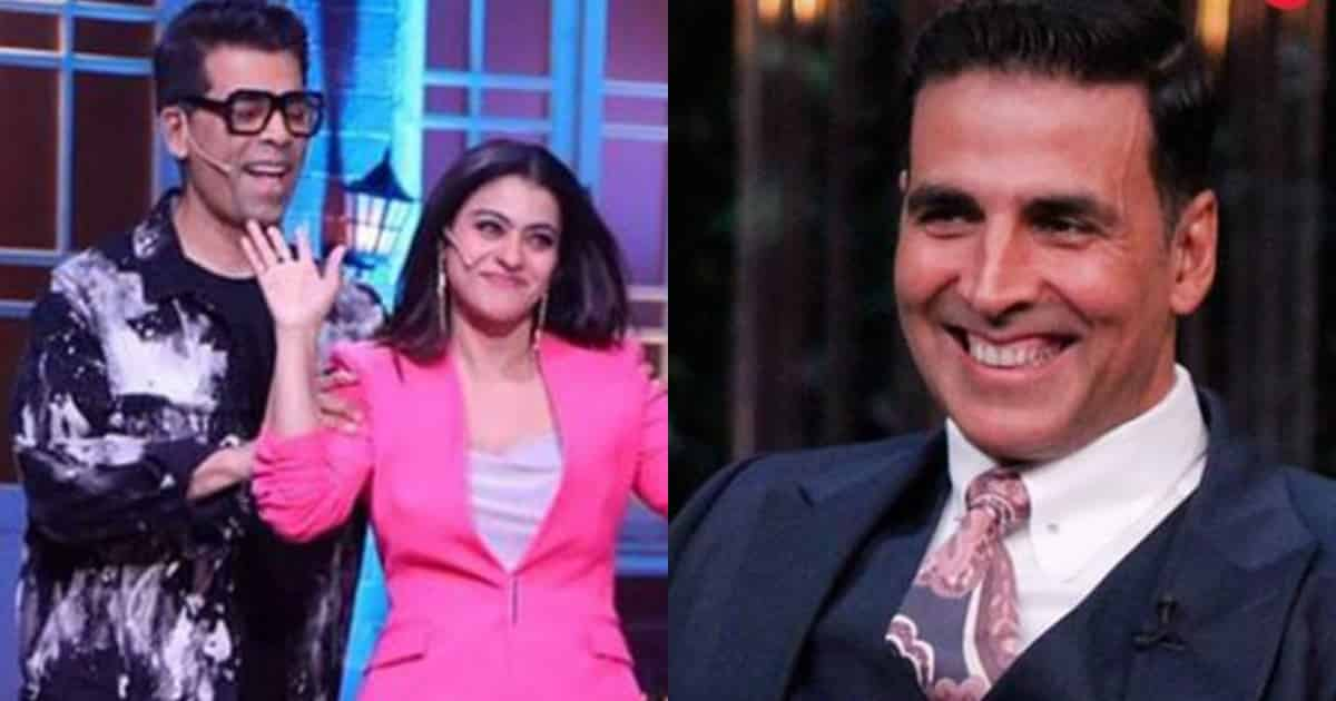 Photo of Kajol Once Had a Crush on Akshay Kumar, Reveals Karan Johar on The Kapil Sharma Show