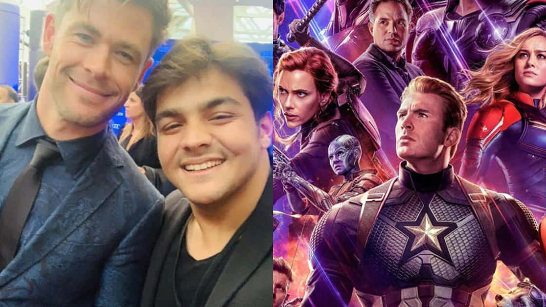 Photo of Indian Youtuber Ashish Chanchlani Attends Avengers: Endgame Premiere in LA