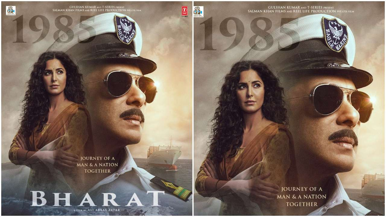 Photo of New 'Bharat' Poster Released, Salman Khan Looks Dashing as a Naval Officer