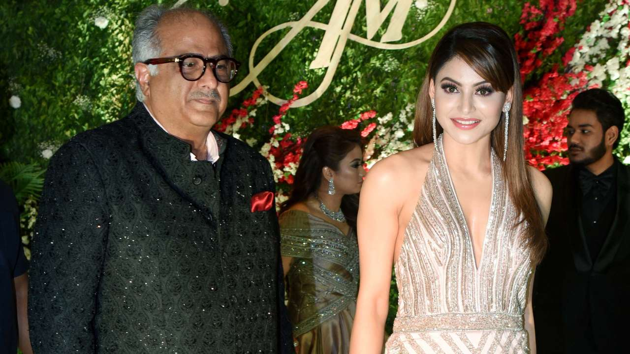 Photo of Boney Kapoor's Inappropriate Video With Urvashi Rautela Goes Viral