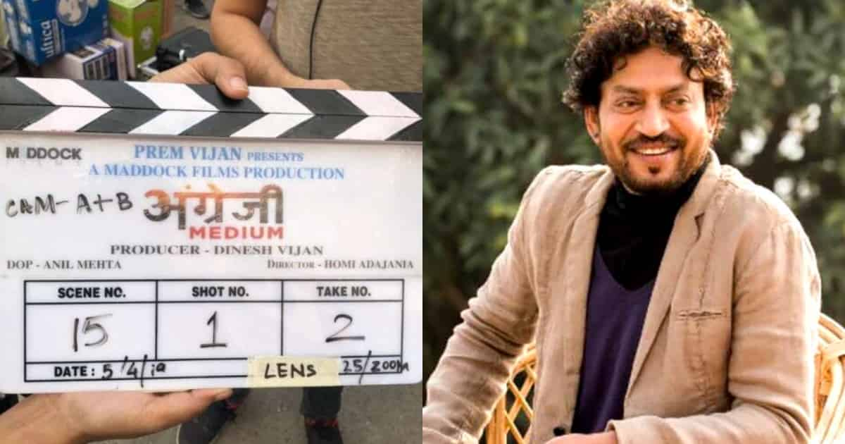 Photo of Hindi Medium 2 Titled 'Angrezi Medium', Irrfan Khan Begins Shooting Post Cancer Treatment