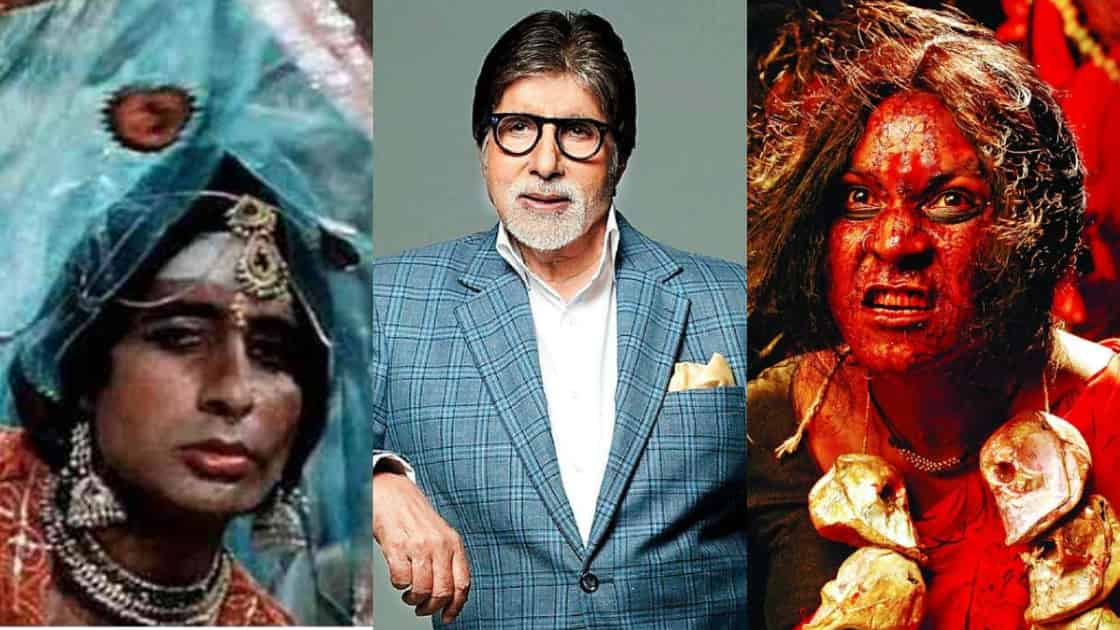 Photo of Amitabh Bachchan to Play a Transgender in Akshay Kumar's Kanchana Hindi Remake?