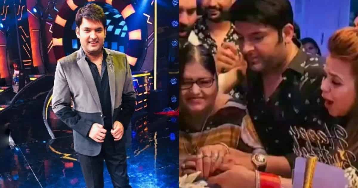 Photo of Kapil Sharma's Mother Becomes The Show Stealer at His Birthday