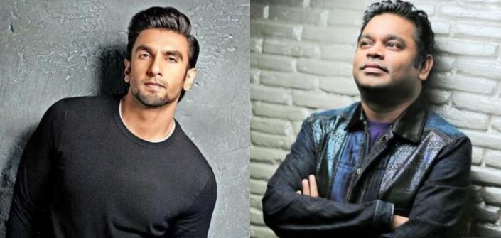 Photo of Ranveer Singh's Reaction to A.R. Rahman's Interest in 'IncInk' is Every Fan Boy Ever