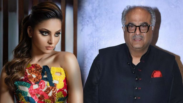 Photo of Urvashi Rautela Reacts to Her Viral Video With Boney Kapoor
