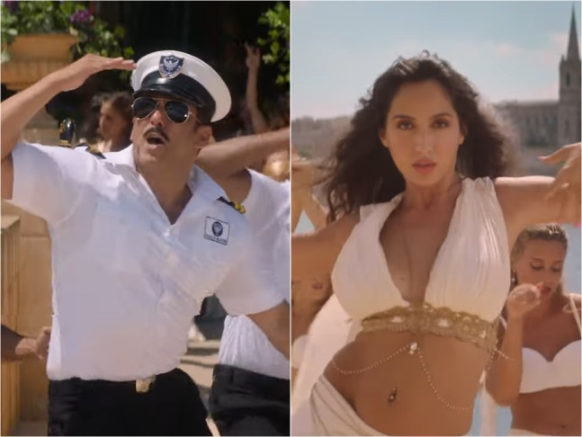 In The Latest Track Release From Salman's: Bharat i.e. Turpaya He Gets Groovy With Nora Fatehi