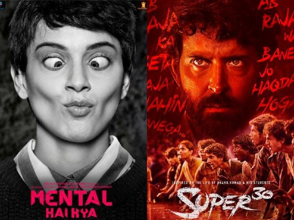 Hrithik's: Super 30 And Kangana's: Mental Hai Kaya Call It A Truce When It Comes To The Box Office Release Date