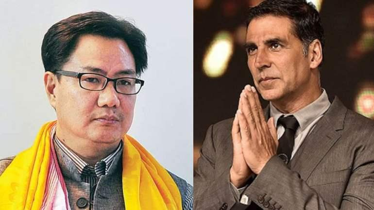 Photo of Akshay Kumar Thanks Union Minister Kiren Rijiju For Supporting Him in Canadian Citizenship Controversy