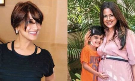 Sameera Reddy Mother's Day