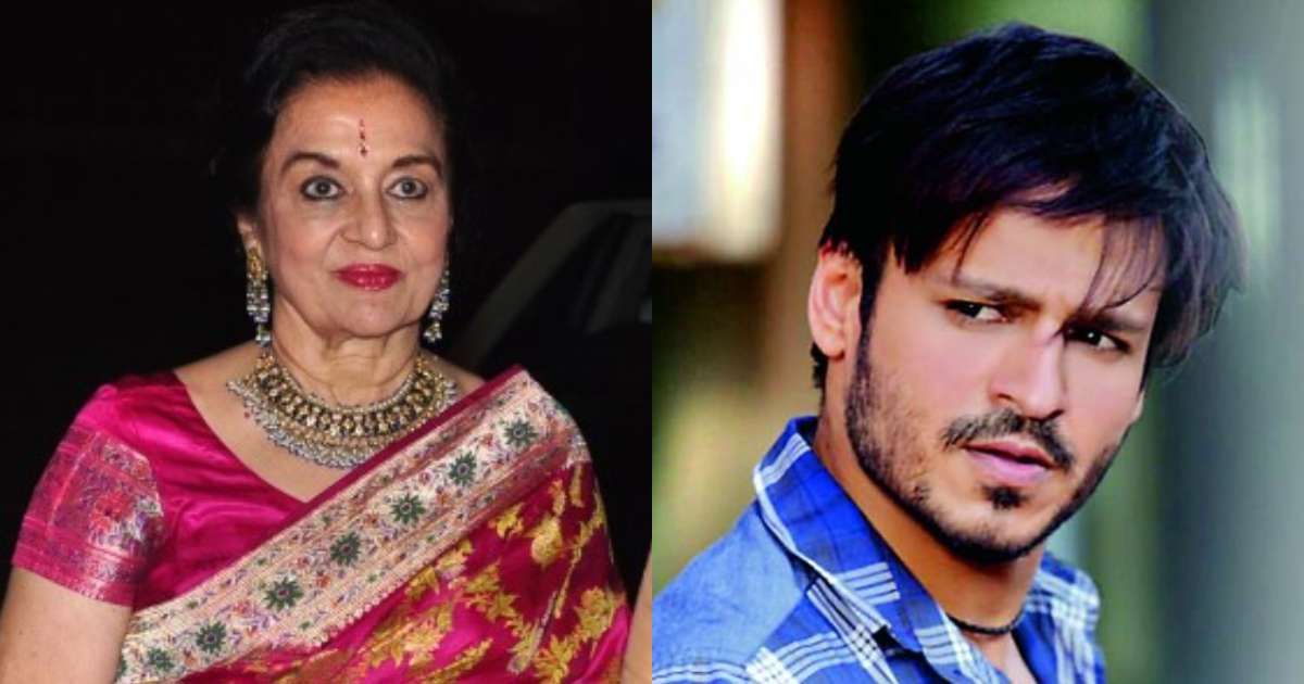 Photo of Vivek Oberoi is a Creep, Says Veteran Bollywood Actress Asha Parekh
