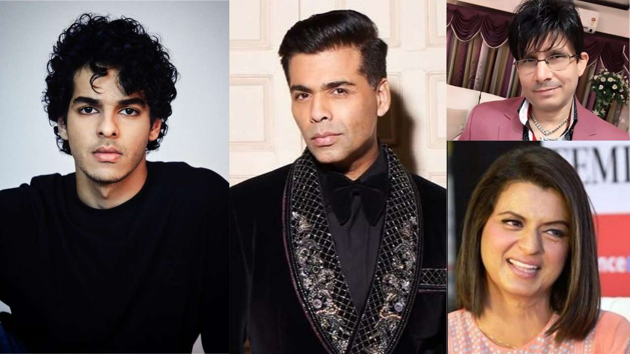Photo of KRK Claims Ishaan Khatter Talked Rudely to Karan Johar, Rangoli Chandel Slams KJo
