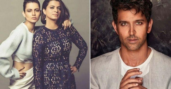 Photo of Kangana Ranaut's Sister Rangoli Lashes Out & Threatens Hrithik Roshan