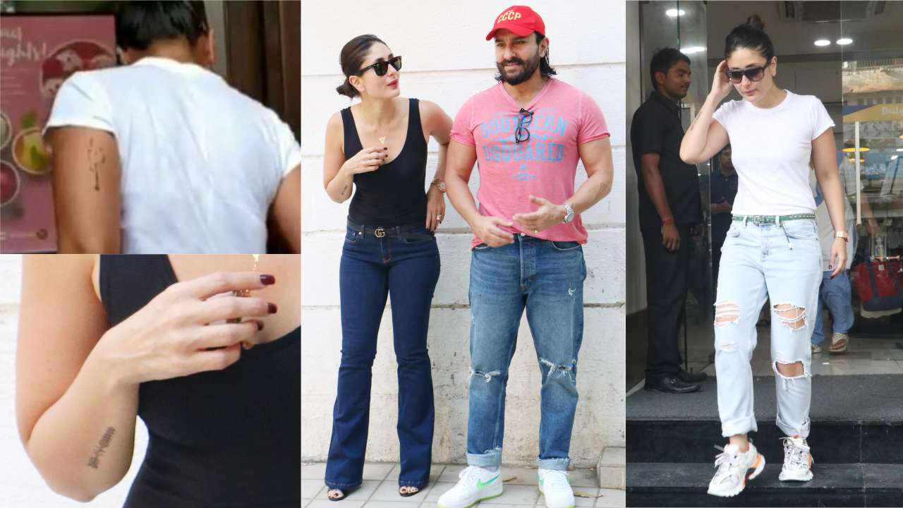Photo of Kareena Kapoor Khan Finally Reveals Her Hidden Tattoos!