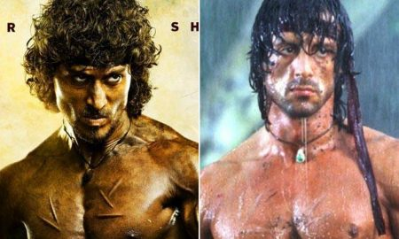 Tiger Shroff Sylvester Stallone Rambo Hindi Version
