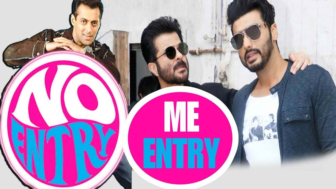 Salman Khan Arjun Kapoor No Entry 2