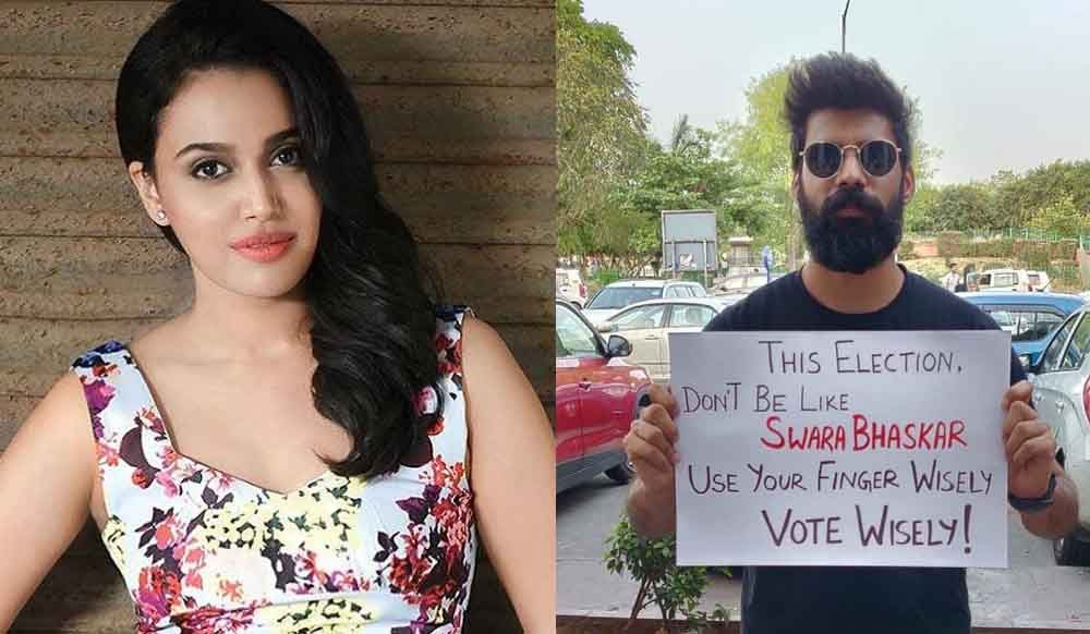 Photo of Swara Bhasker Gets Trolled Again For Her Masturbation Scene; This is How She Shut Them Down