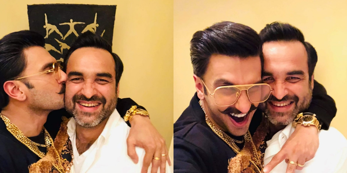 Photo of Here's What Stopped Ranveer Singh From Hugging Pankaj Tripathi on The Sets of '83