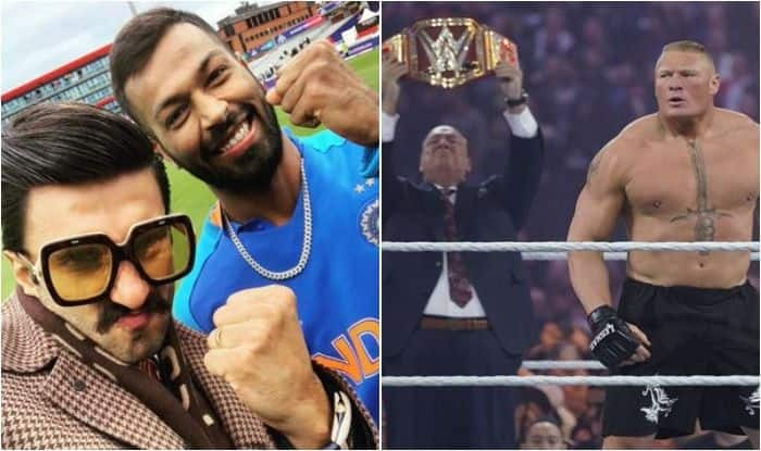 Photo of Ranveer Singh Served With a Legal Notice From WWE Star Brock Lesnar's Advocate