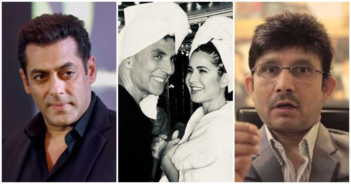 Photo of Kamaal R Khan Calls Akshay Kumar to be Katrina Kaif's Godfather & Not Salman Khan