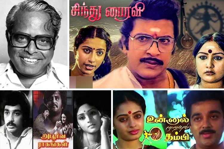 List of Tamil Movies Directed By K Balachander
